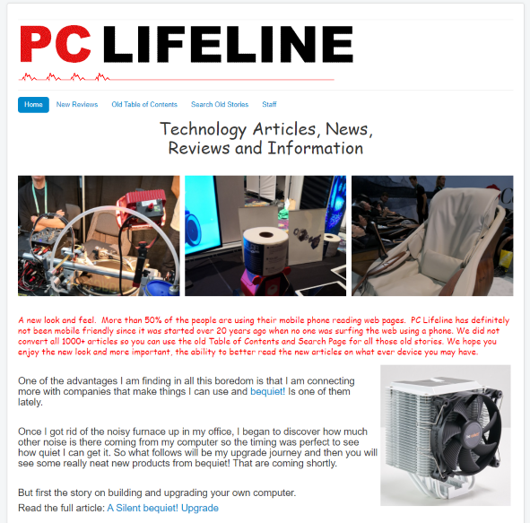 PC Lifeline News and Information